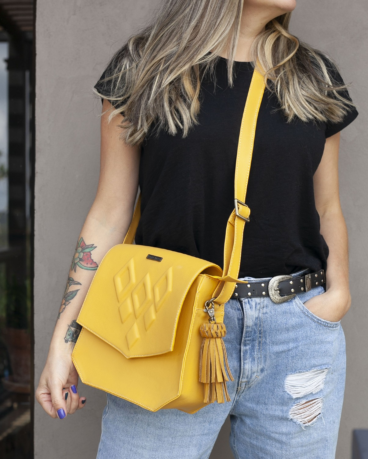 Carriel Lola Amarillo