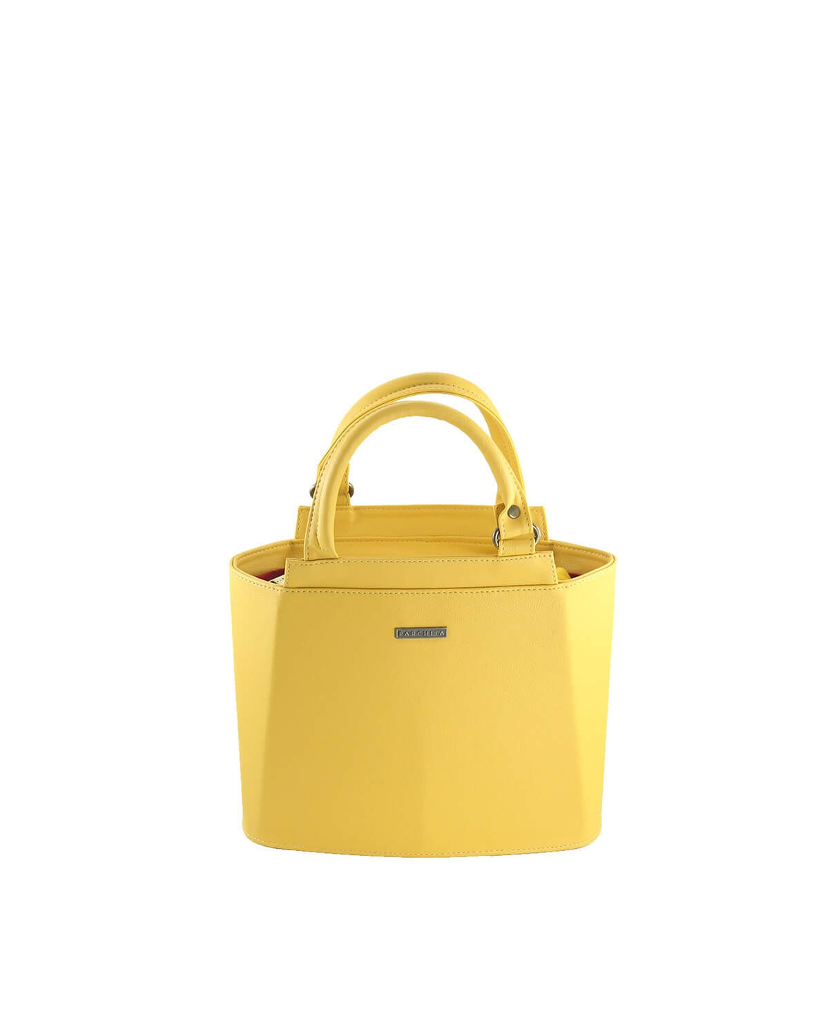 Cartera Mini Piramidal Amarillo